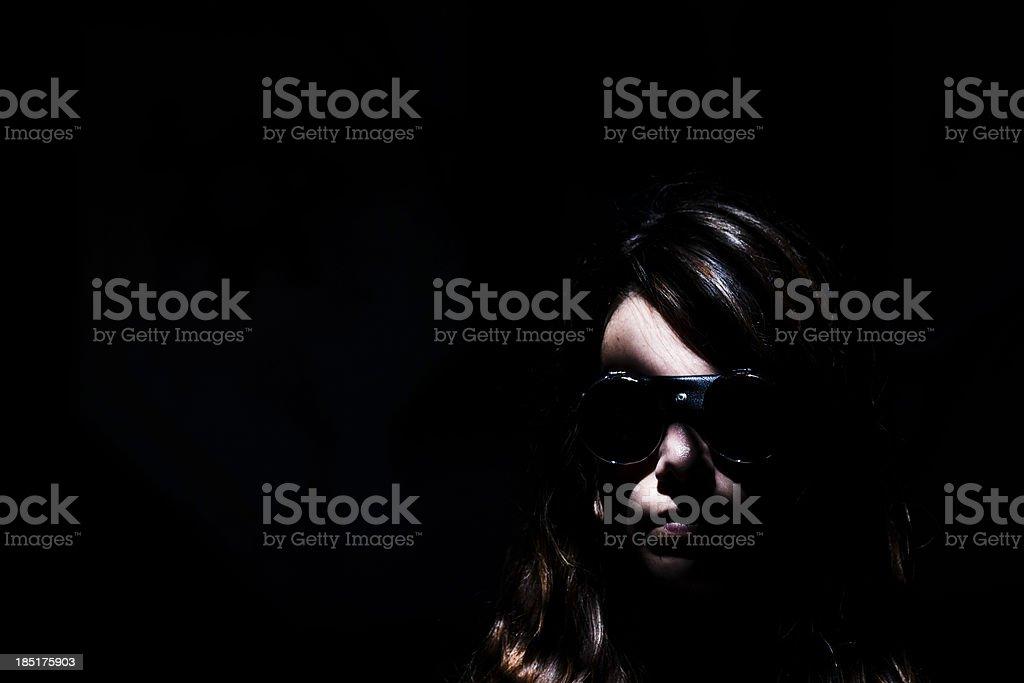 Female Agent royalty-free stock photo