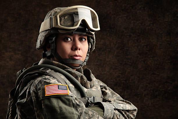 women in military combat