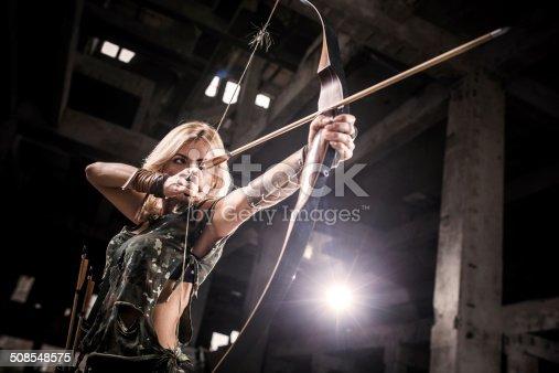 istock Female archer. 508548575