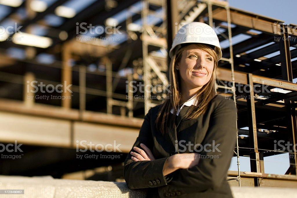 Female Architect royalty-free stock photo