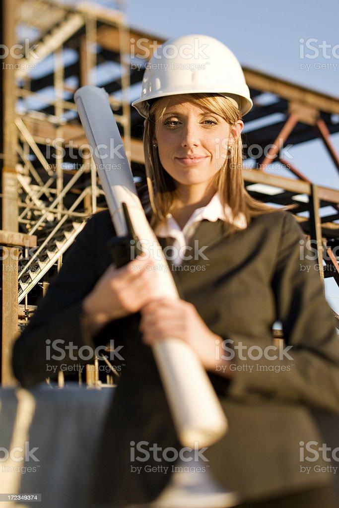 Arquitecto hembra foto de stock libre de derechos