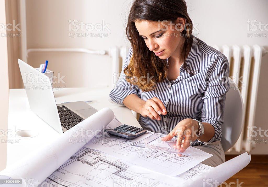 Weibliche Architekt – Foto