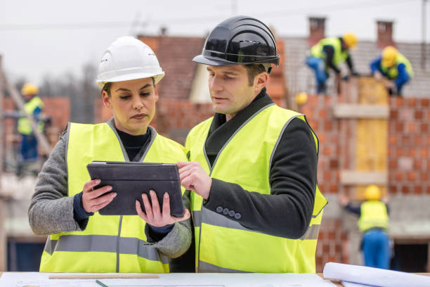 Architektin mit dem Ingenieur – Foto