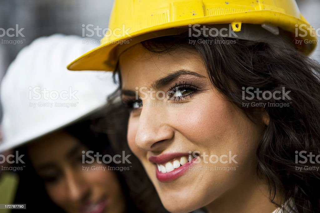 Female architects royalty-free stock photo