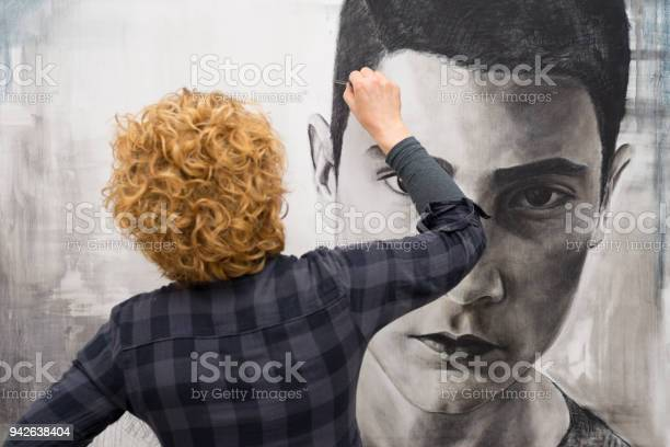 Female artist working on her painting picture id942638404?b=1&k=6&m=942638404&s=612x612&h=ffolkk1we1i1ltogre1y jbrn9mxncw 3wyuuvdqalq=