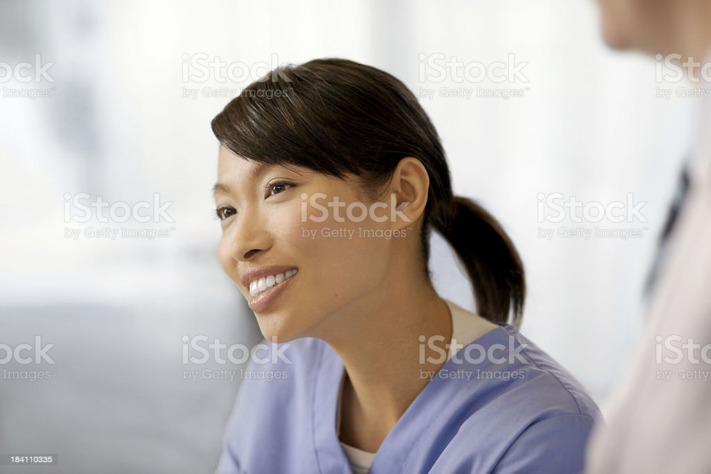 Female asian doctor royalty-free stock photo