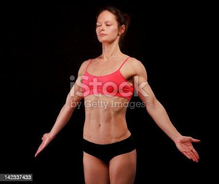 496193203 istock photo Female athlete 142337433
