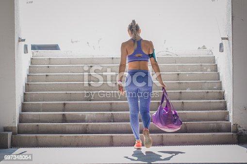 istock Female athlete 697348054