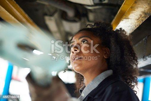 599909112 istock photo female auto mechanic 488216658