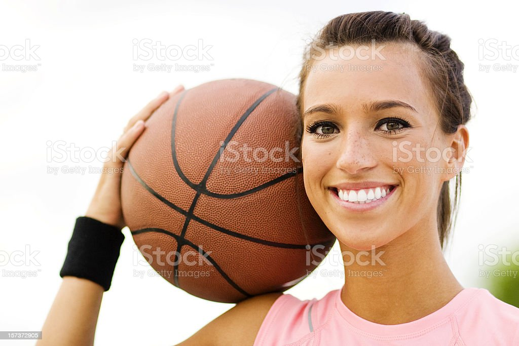 Female Basketball Player - Royalty-free 16-17 Years Stock Photo
