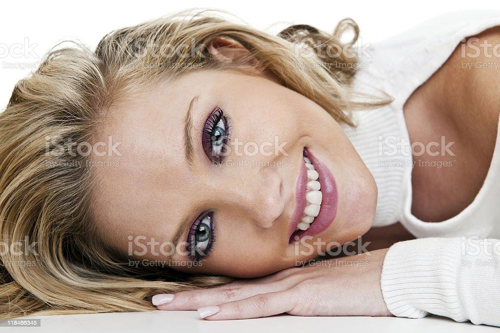 Female beauty headshot royalty-free stock photo