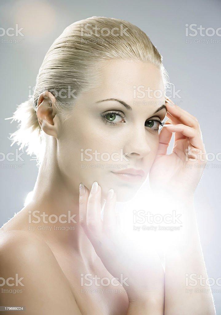 Female beauty. royalty-free stock photo
