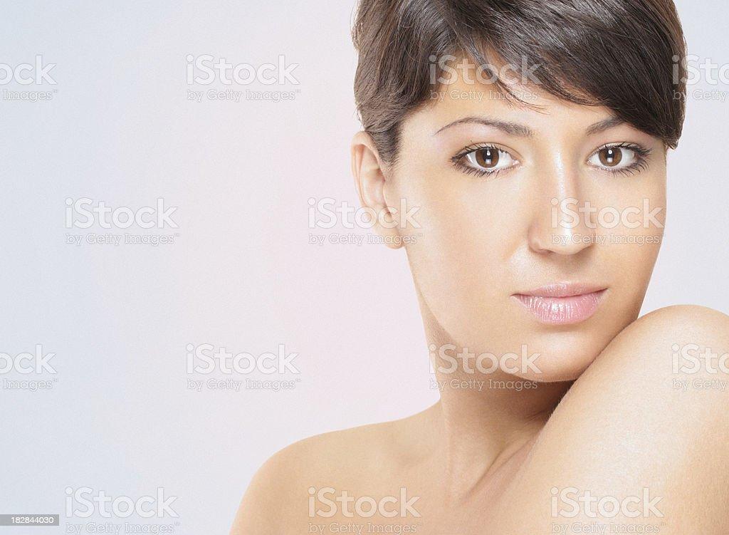 Female beauty. stock photo