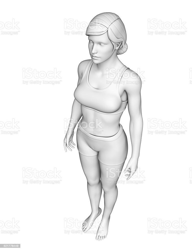 Female Body Artwork Stock Photo Download Image Now Istock