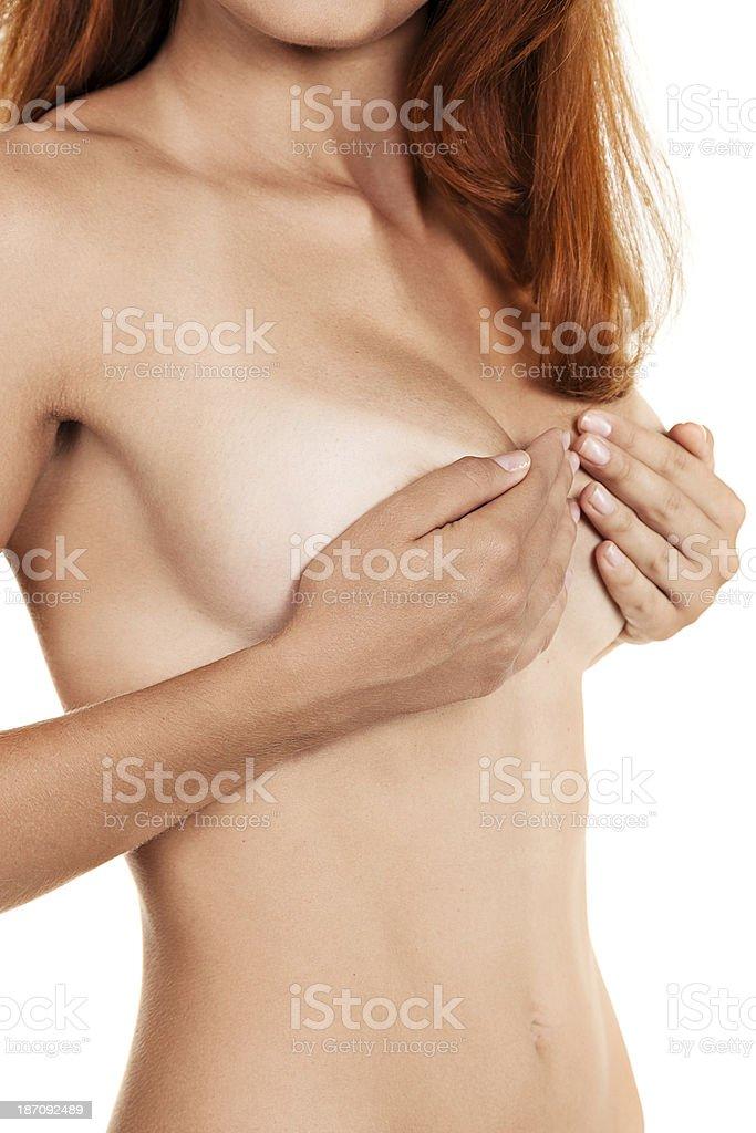 Female body shot royalty-free stock photo