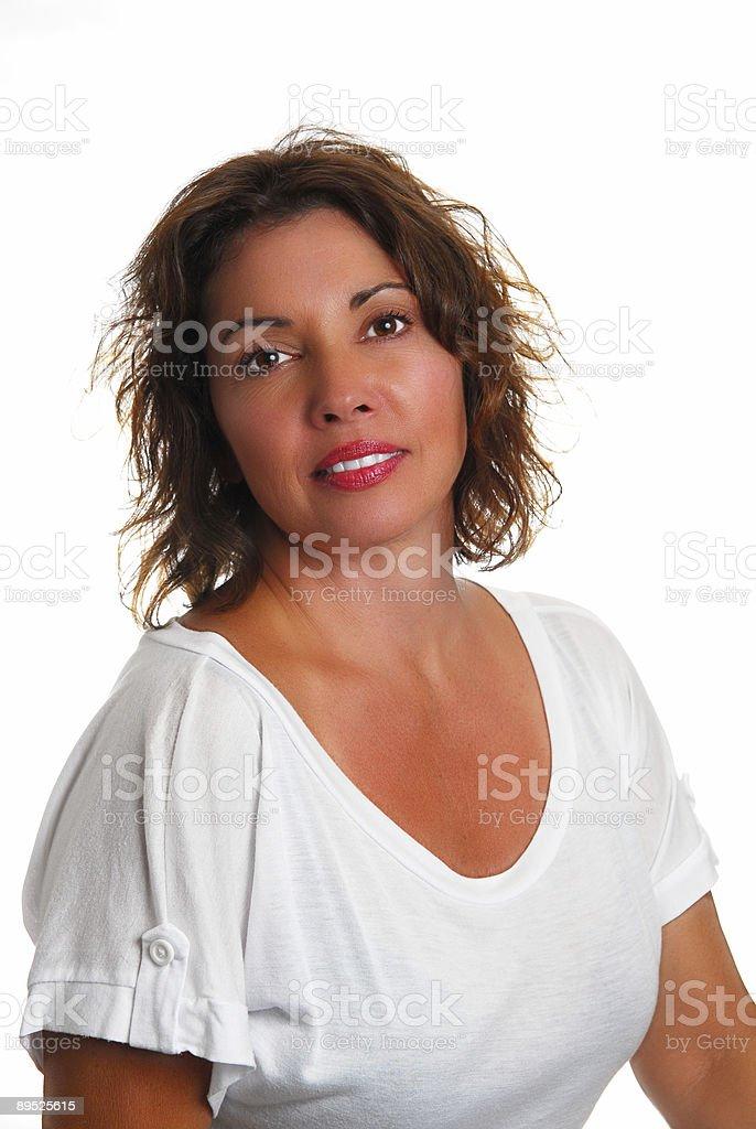 Female Brunette Portrait royalty-free stock photo