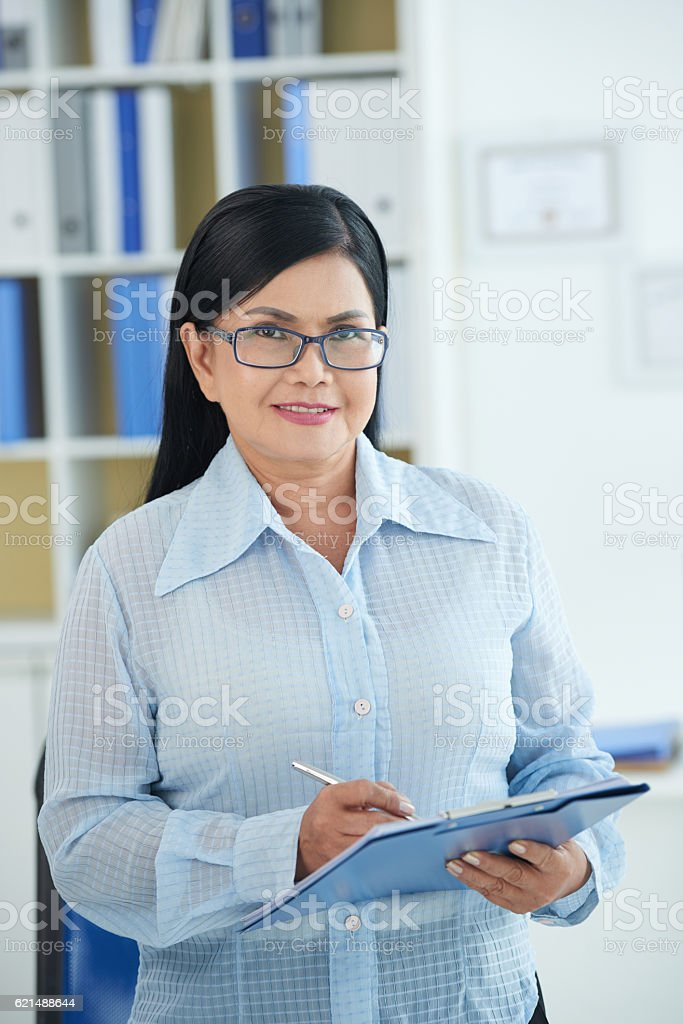 Femmina business executive foto stock royalty-free