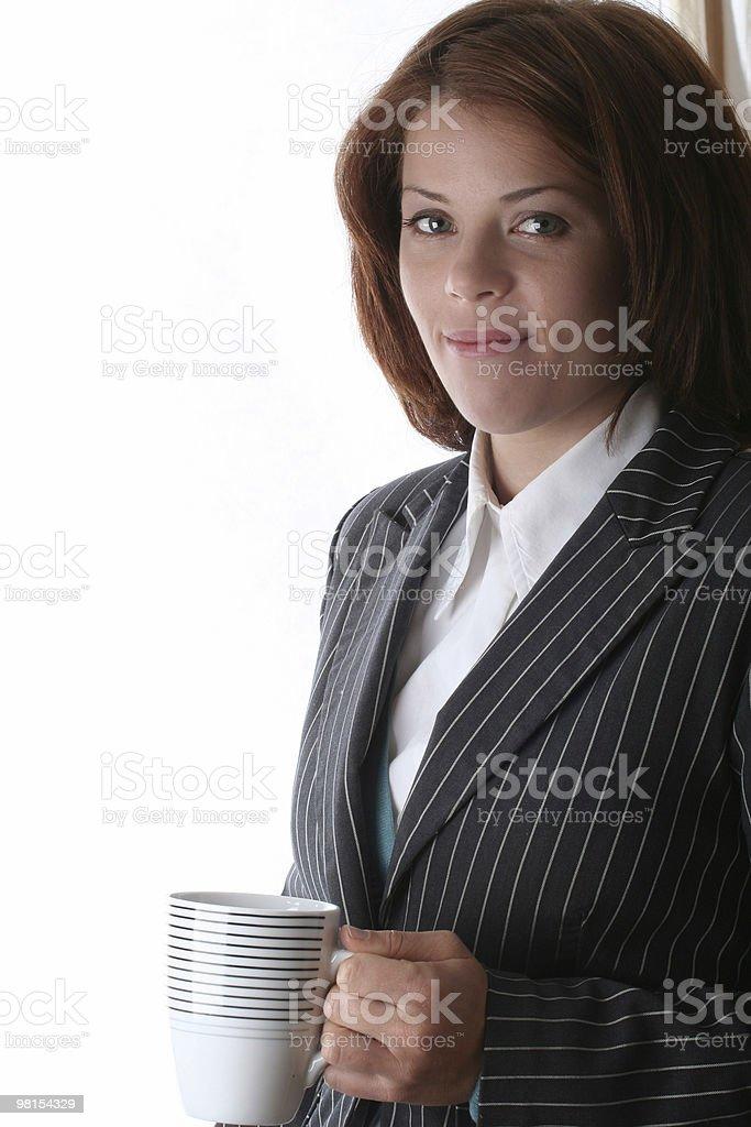 여성 비즈니스 성녀 royalty-free 스톡 사진