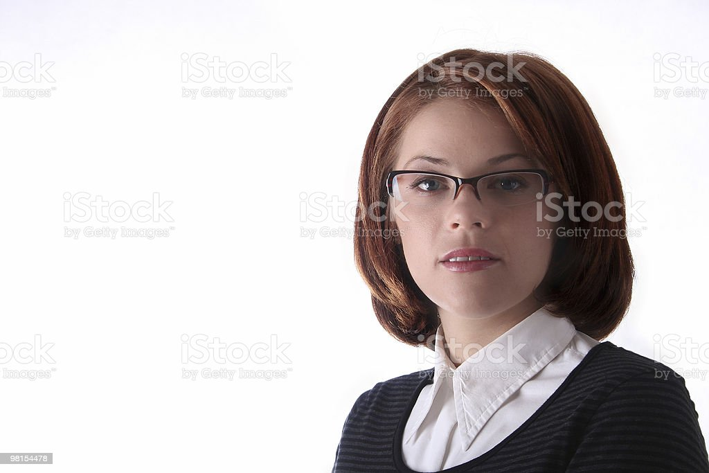 Female Business Lady royalty-free stock photo
