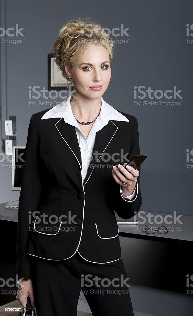 Female Business Woman royalty-free stock photo