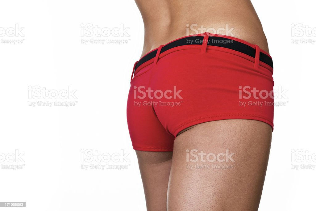 Female buttocks royalty-free stock photo