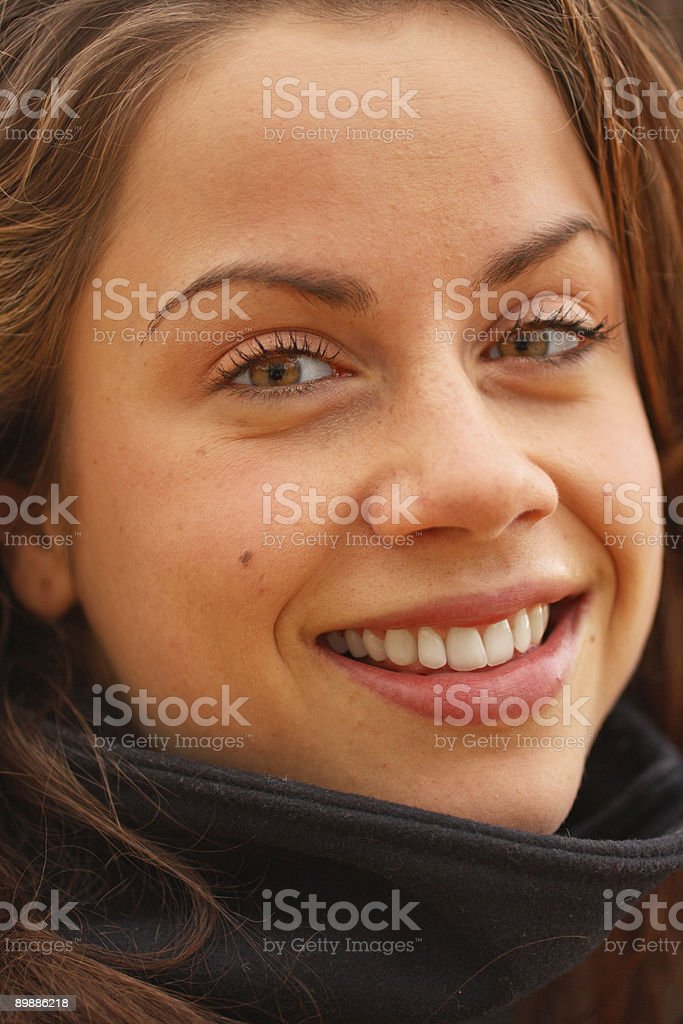 female close up royalty free stockfoto