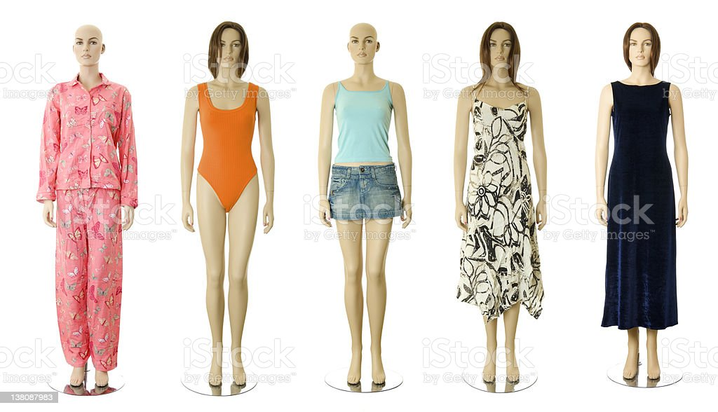 Female clothes collection #1 | Isolated stock photo