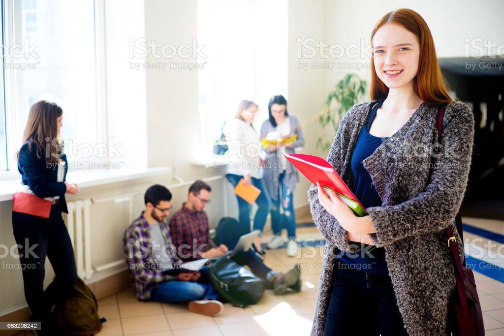 Female college student foto de stock royalty-free