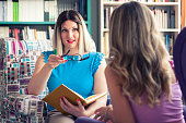 istock Female counselor talks with a client 1016605218