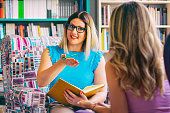 istock Female counselor talks with a client 1028220858