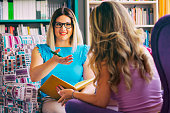 istock Female counselor talks with a client 1028378382
