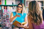 istock Female counselor talks with a client 1028378398