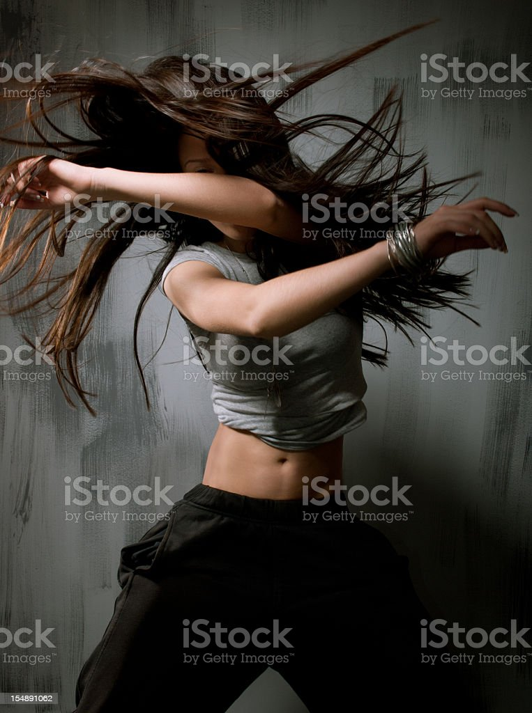 Female dancer stock photo