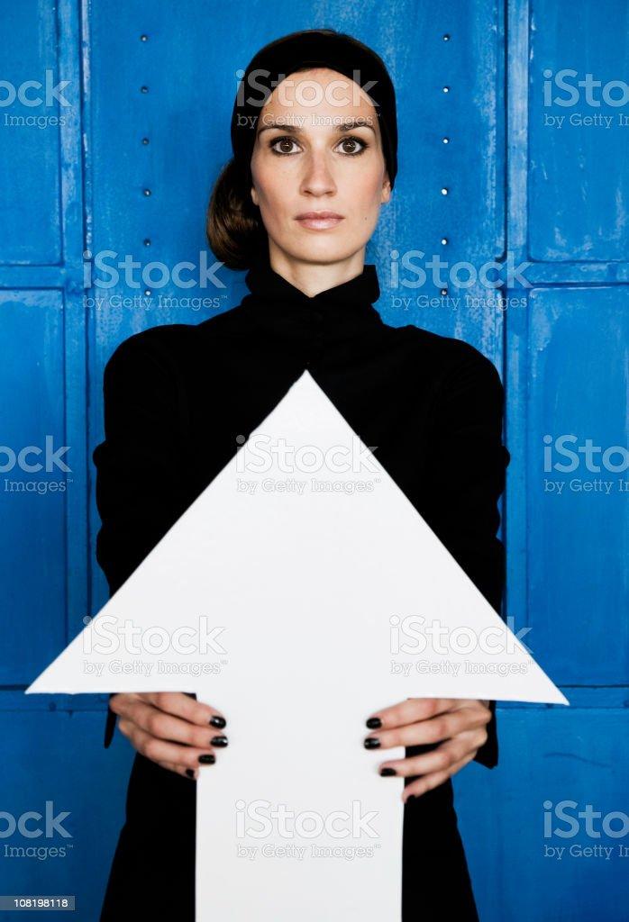 Female Direction stock photo