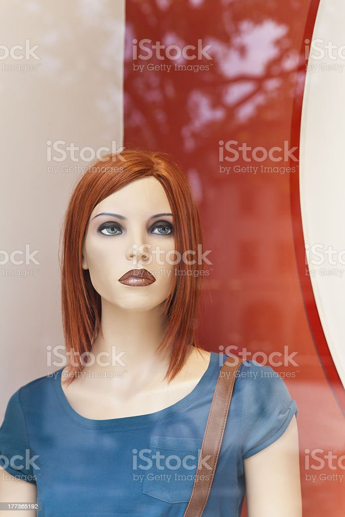 Female display dummy royalty-free stock photo