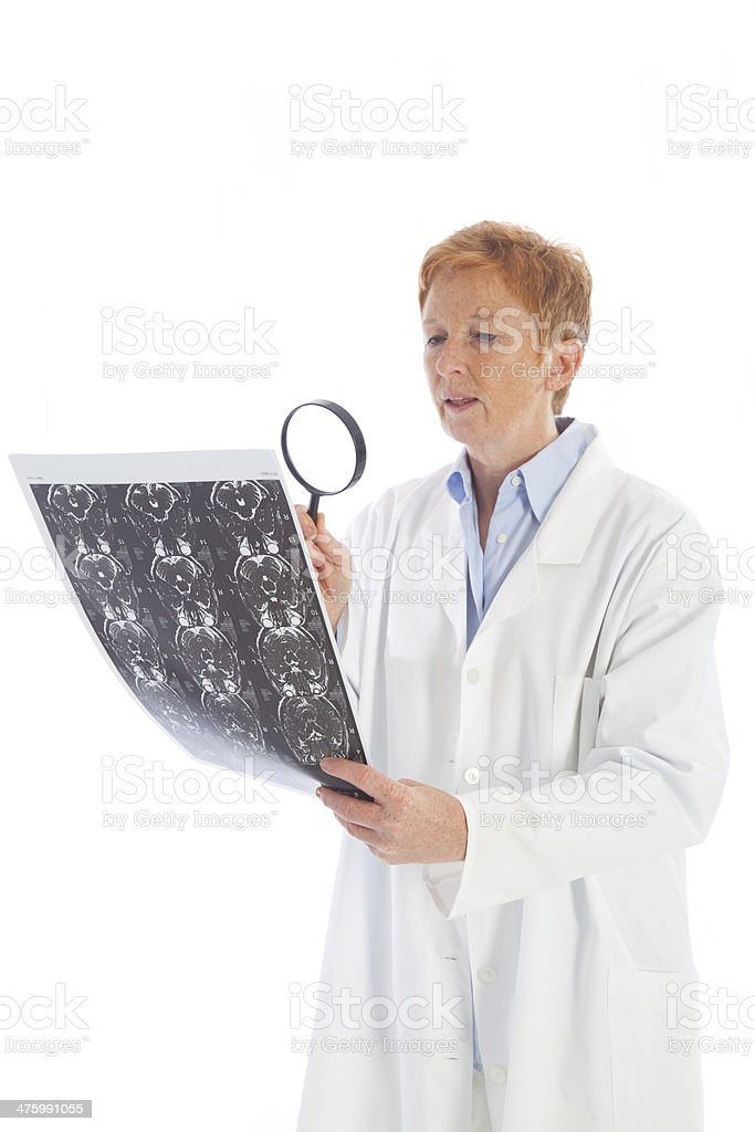 female doctor of radiology 1 royalty-free stock photo