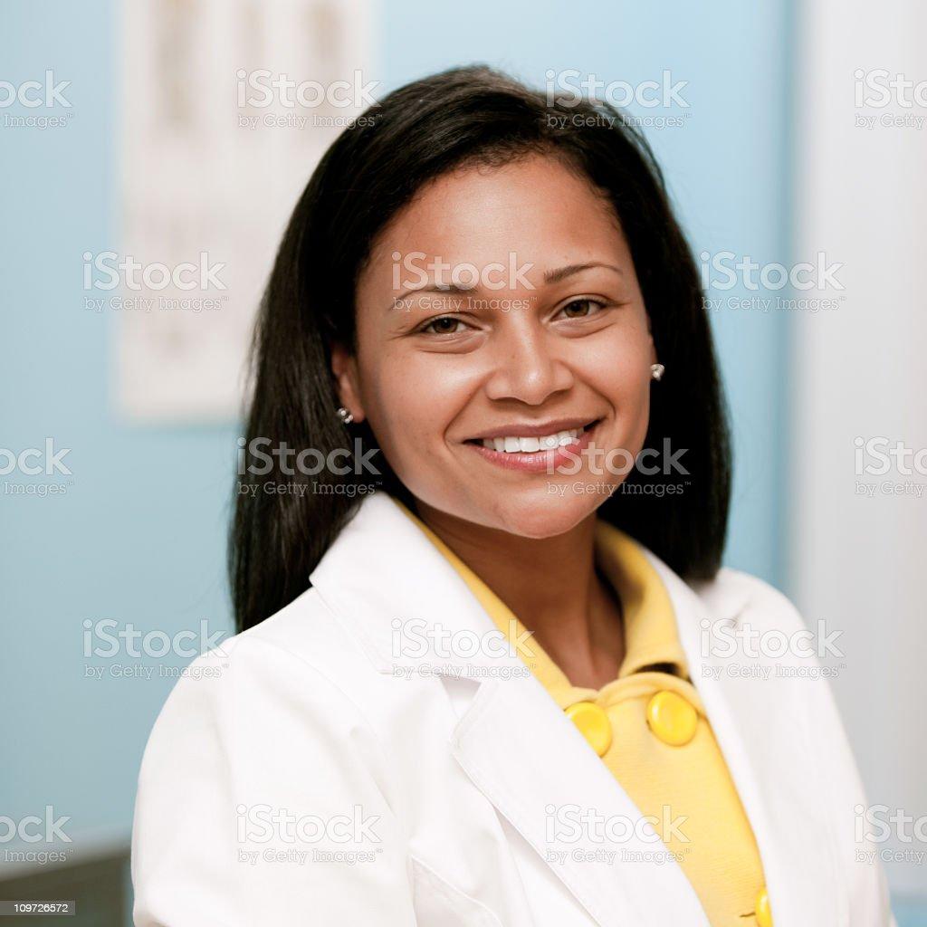 Female Doctor Portrait royalty-free stock photo