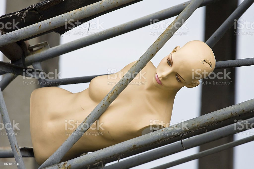 female dummy royalty-free stock photo