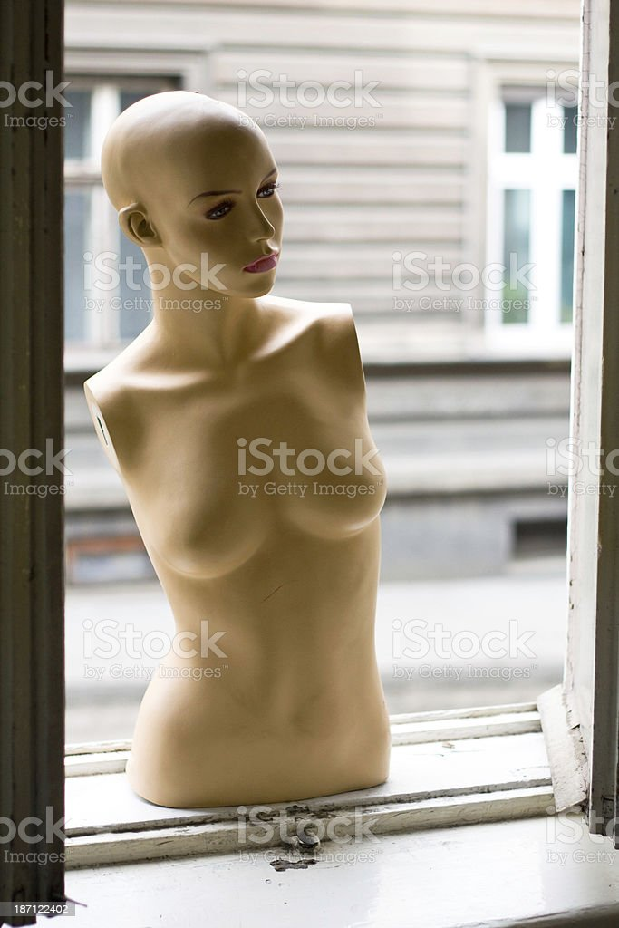 female dummy stock photo
