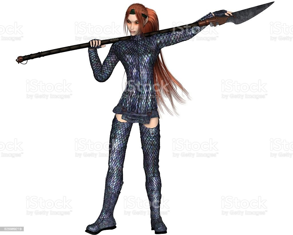 Female Elf Dragon Warrior Stock Photo Download Image Now Istock A player wearing full dragon armour. https www istockphoto com photo female elf dragon warrior gm525969219 52249650
