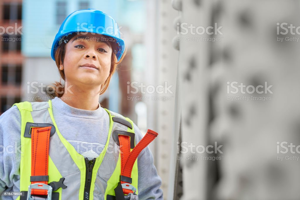 female engineer royalty-free stock photo