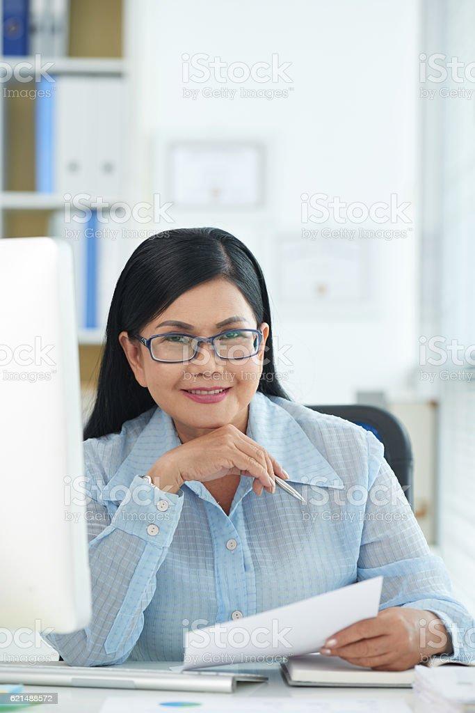 Femme entrepreneur photo libre de droits