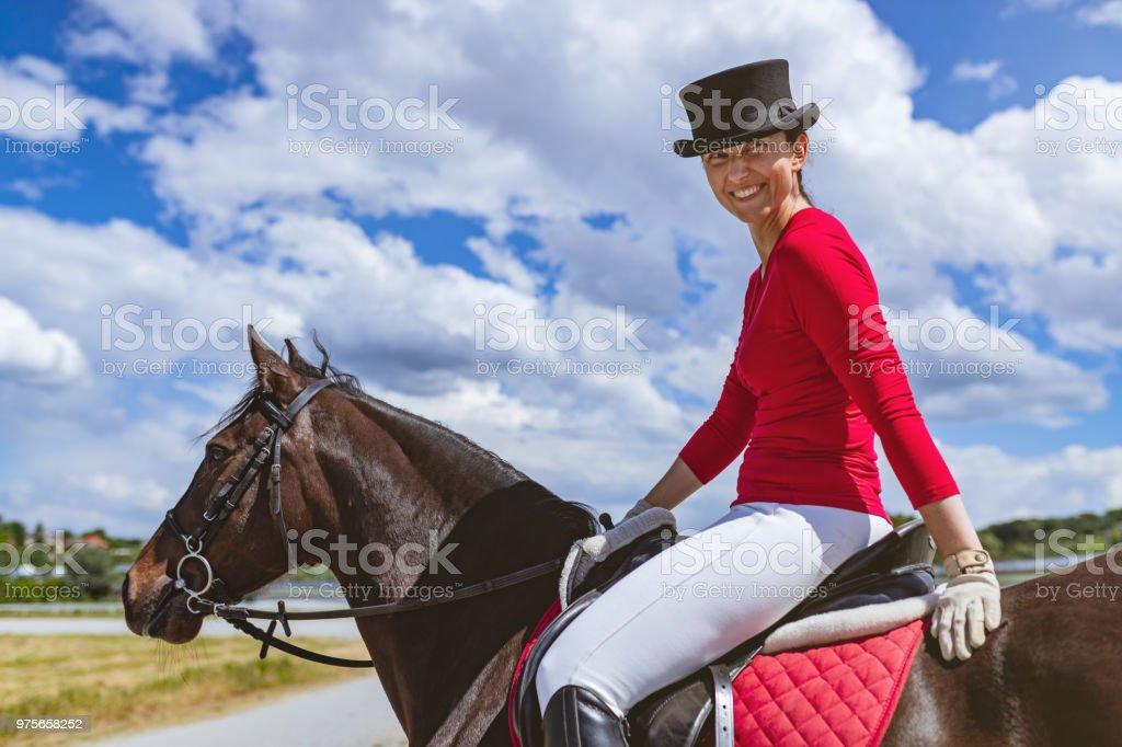 Frauen reiten Olympia 2021