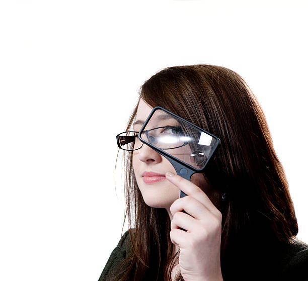 Female executive using a magnifying glass picture id183878831?b=1&k=6&m=183878831&s=612x612&w=0&h=4upbg8dt9wzuosh6qskibwaxwkzns5mnbqdvevlqcpy=