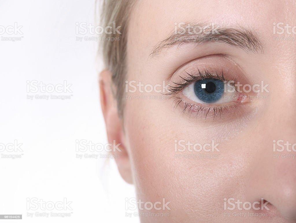 Female eye royalty-free stock photo