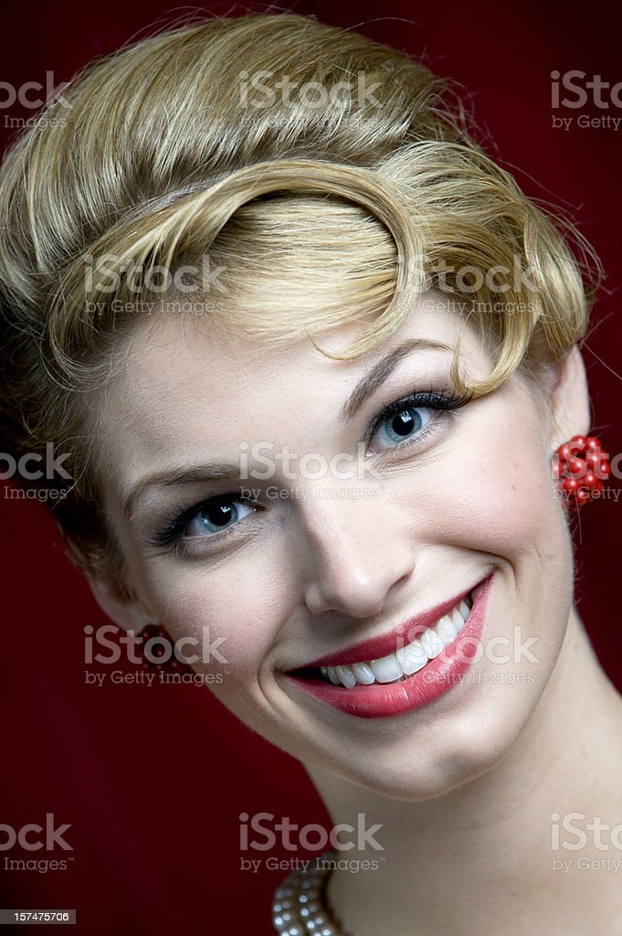 Female Face stock photo