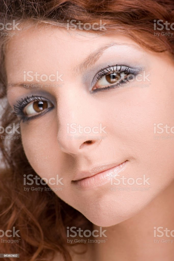 Female Face royalty-free stock photo