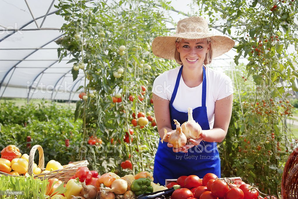 Female Farmer royalty-free stock photo