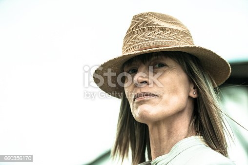 Female Farmer Portrait