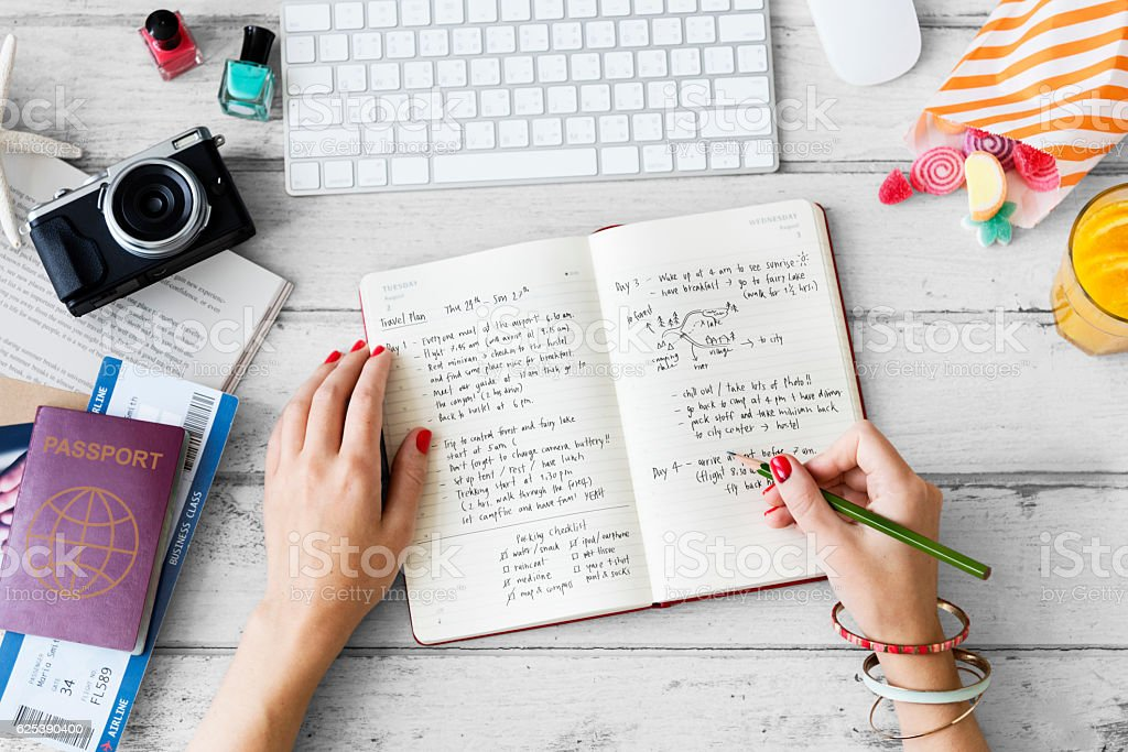 Female Freetime Laptop Concept stock photo